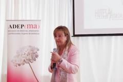 MALAGA, 140319-La asociacion ADEPMA, bajo la presidencia de Gemma Mele, durante el acto de homenaje que ha ofrecido a Maria Paz Hurtado con motivo de ser galardonada con la Medalla de Oro por la Junta de Andalucia 2014 © ADEPMA/jesusdominguez.com
