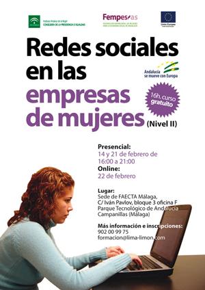 20130130 AMECOOP-Cartel-taller-redes-sociales-en-las-empresas-de-mujeres