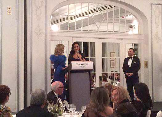 Gemma Melé recibe el Dedal de Oro